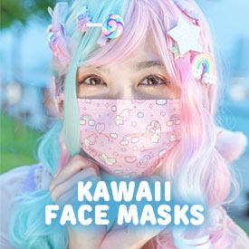 Kawaii Face Masks