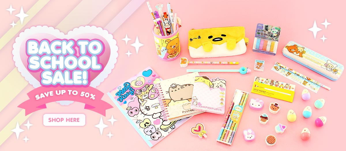 Kawaii Back To School Sale