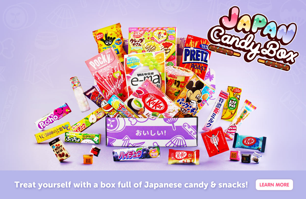 Japanese Snacks Subscription Box