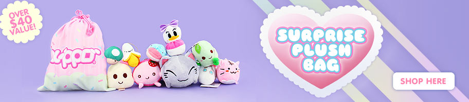 Blippo Surprise Kawaii Plush Bag