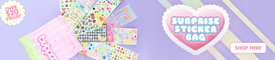 Blippo Surprise Sticker Bag