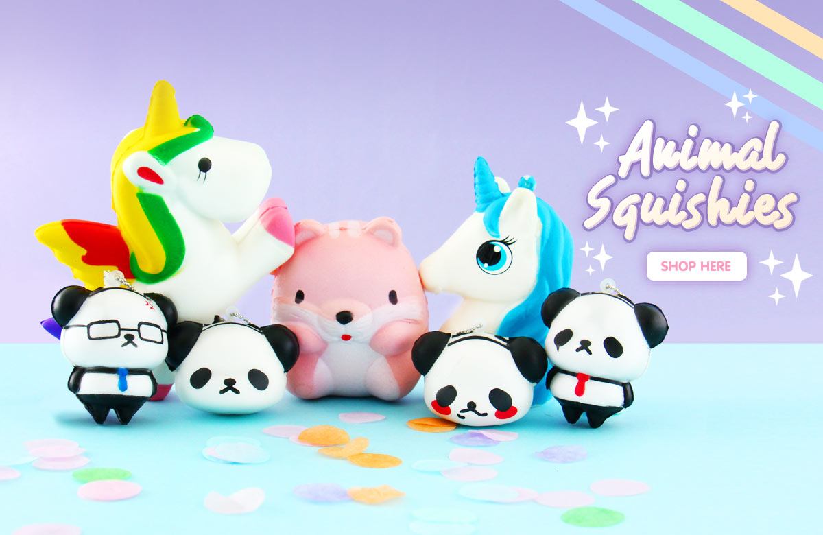 Animal Squishies