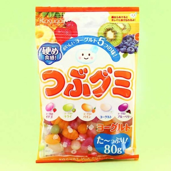 Kasugai Tsubu Gummies - Fruit Yogurt Mix