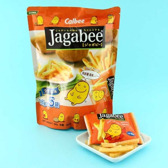 Jagabee Salted Potato Snacks - Family Pack