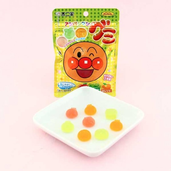 Fujiya Anpanman Fruit Gummy Candies