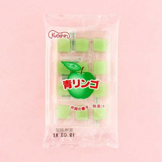 Kyoshin Green Apple Mochi Candies