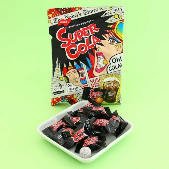 Nobel Super Sour Cola Candy Package