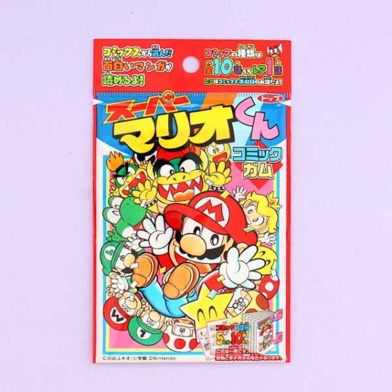 Super Mario Guy Comic Cards & Bubble Gum Collection