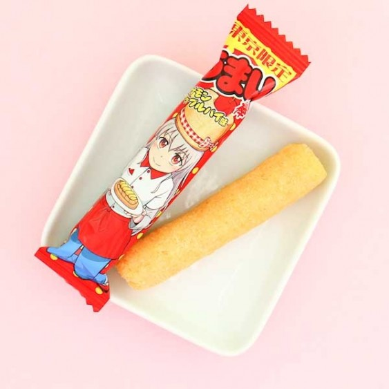 Yaokin Umaibo Apple Pie Snack Stick Set - 5 pcs