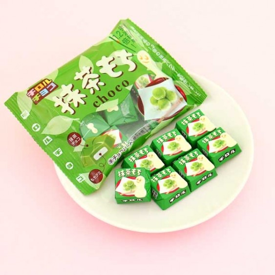 Tirol Chocolate & Green Tea Mochi Snacks