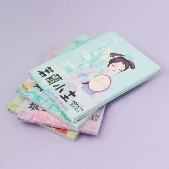 Nekoni Asian Princesses Notebook