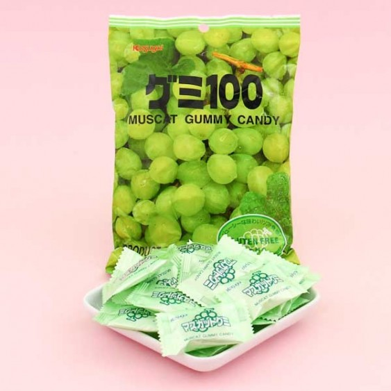 Kasugai Muscat Grape Gummy Candies