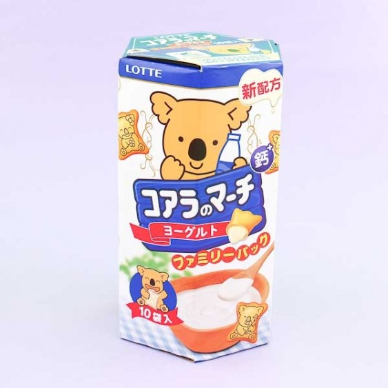 Lotte Koala's March Yogurt Cookies - Family Pack