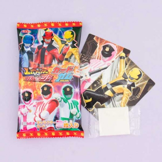 Kaitou Sentai Power Rangers Lupinranger VS Patranger Collectible Card & Gum Set