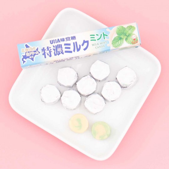 UHA Tokuno 8.2 Milk High Concentrated Candies - Mint Milk