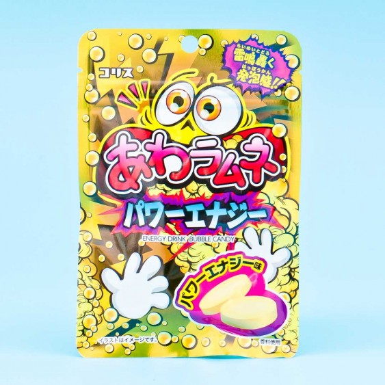 Coris Energy Drink Bubble Candy