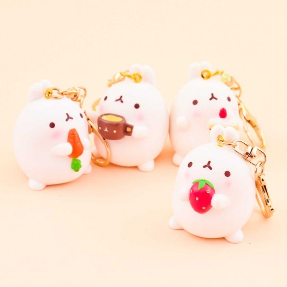 Eating Molang Keychain