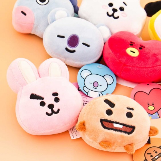 BT21 & LINE Character Plushie Charms