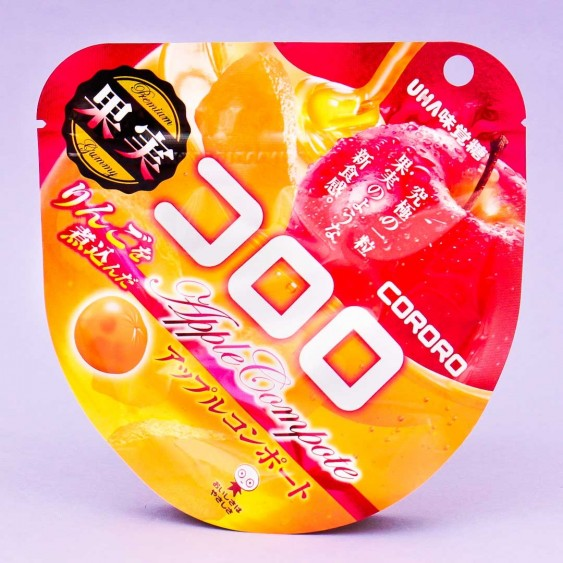 Kororo Fruit Juice Gummy - Apple Compote