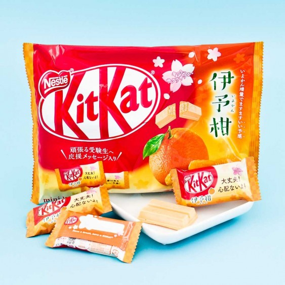 Kit Kat Iyokan Orange Chocolate
