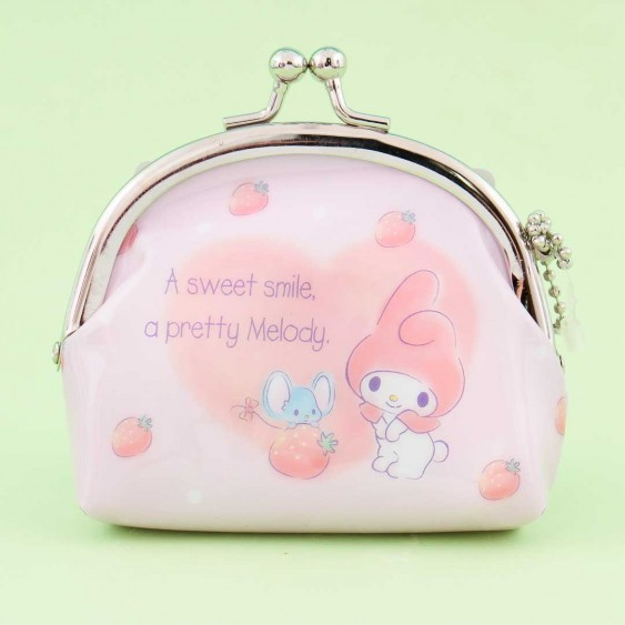 My Melody & Strawberries Coin Purse