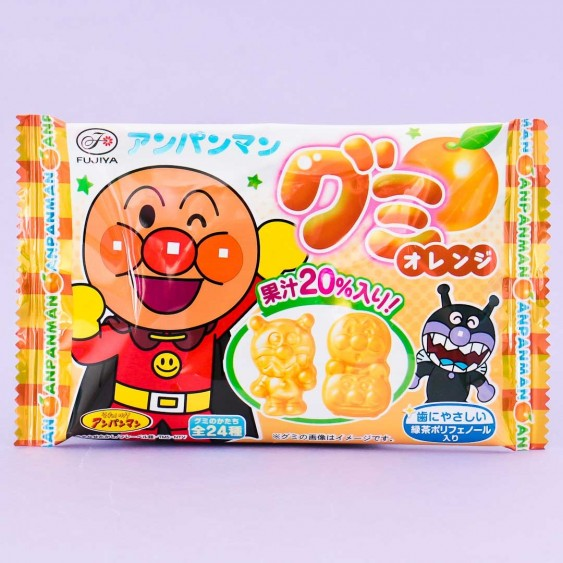 Fujiya Anpanman Gummies - Orange