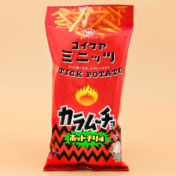Koikeya Potato Stick Snack - Hot Chili