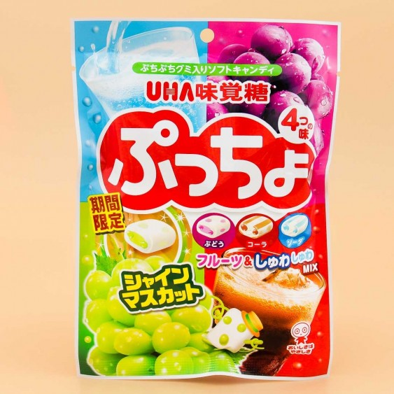 Puccho Chewy Candy Bag - 4 Flavor Mix