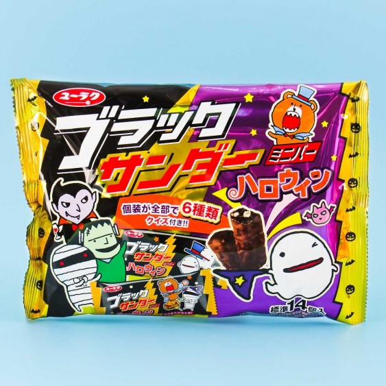 Black Thunder Halloween Mini Bars Pack - 14 pcs