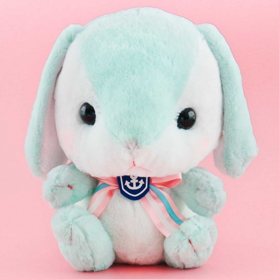 Pote Usa Loppy Sailor Plushie - Mint Chan / Big