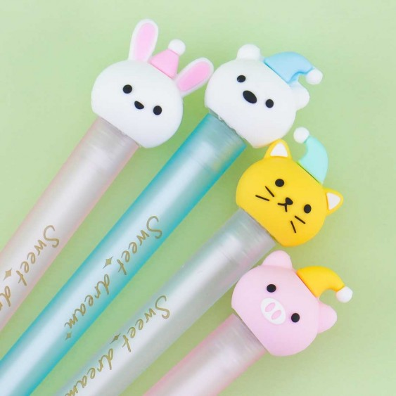 Animal Pajama Hat Pen