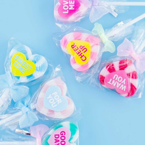 Sweet Heart Lollipop Eraser