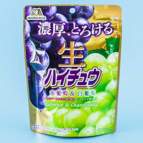 Hi-Chew Nama Candy - Red & White Grapes