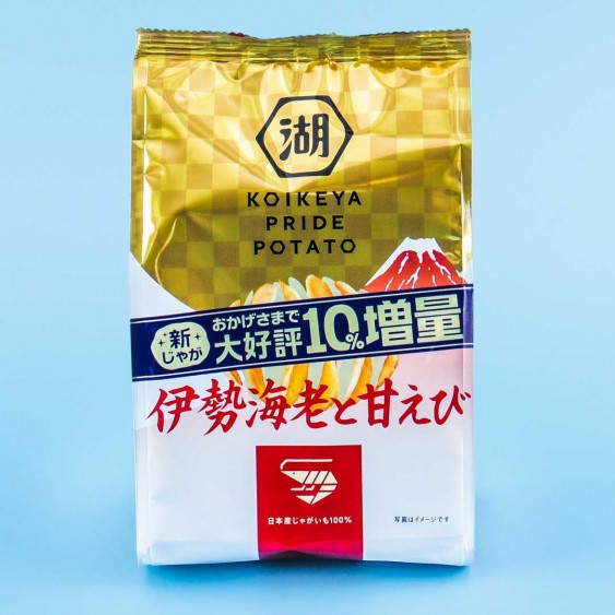 Koikeya Pride Potato Chips - Ise & Sweet Shrimp