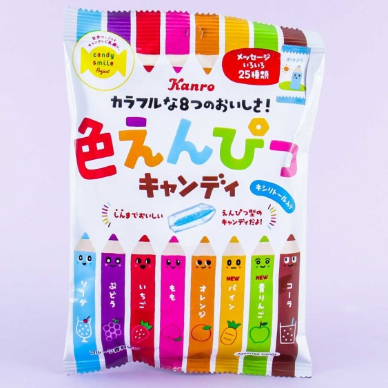 Kanro Mix Colored Pencil Candy