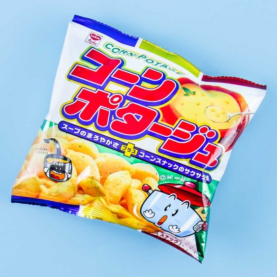 Yaokin Corn Potage Puff Snacks