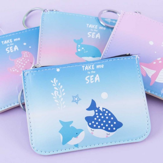 Take Me To The Sea Coin Purse & Card Holder