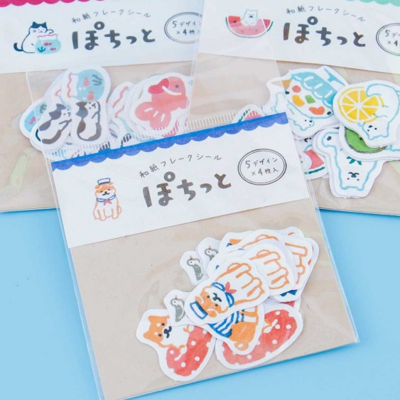 Animal Washi Stickers