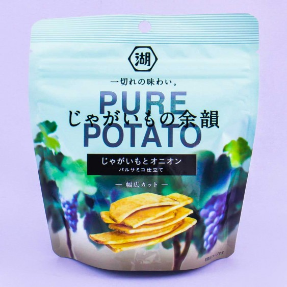 Koikeya Pure Potato Chips - Onion & Balsamic