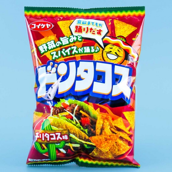 Koikeya Don Tacos Tortilla Chips - Chilli Tacos
