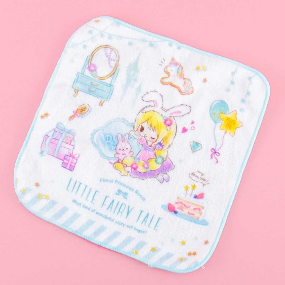 Fairy Tale Hand Towel - Floral Princess Room