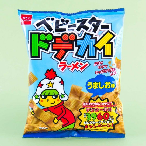 Baby Star Dodekai Tasty Salt Noodle Snacks