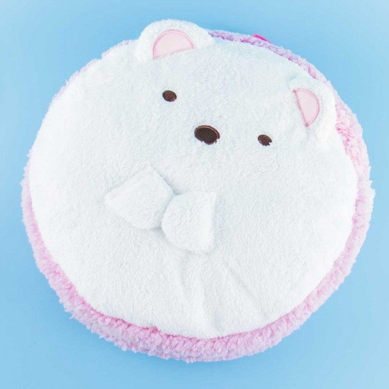Sumikko Gurashi Fluffy Backpack - Shirokuma