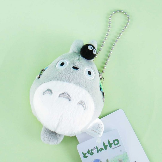 My Neighbor Totoro Soft Coin Purse - Totoro With Soot Sprite