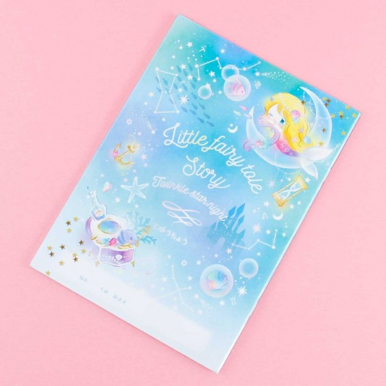 Little Fairy Tale Story Under The Sea Notebook
