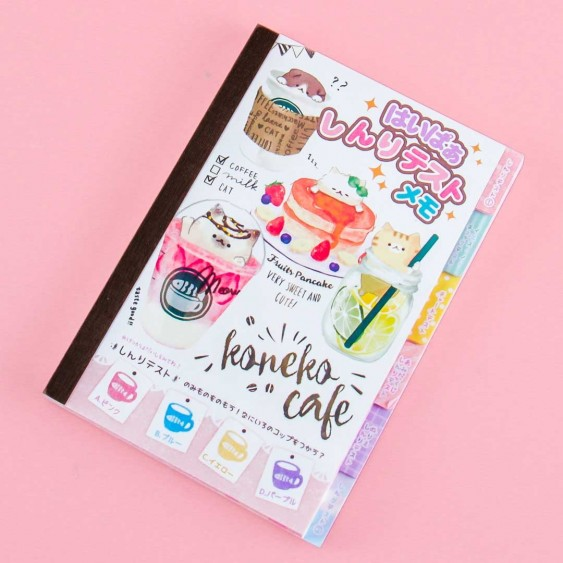 Koneko Cafe Activity Notebook