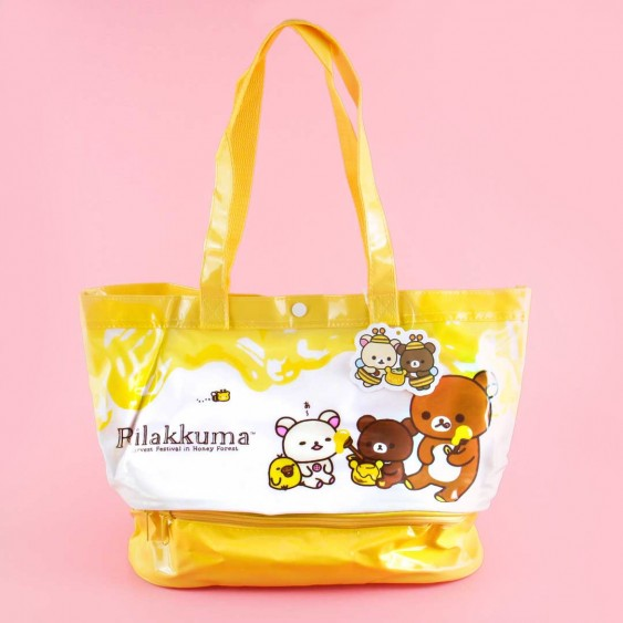 Rilakkuma Harvest Festival in Honey Forest Tote Bag