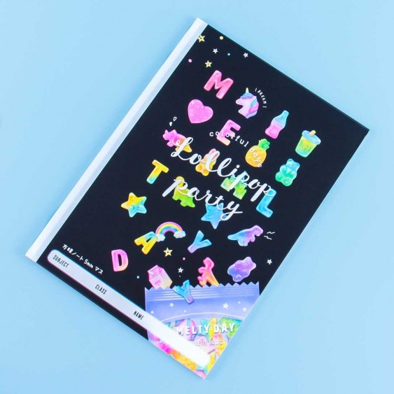 Melty Day Lollipop Party Notebook