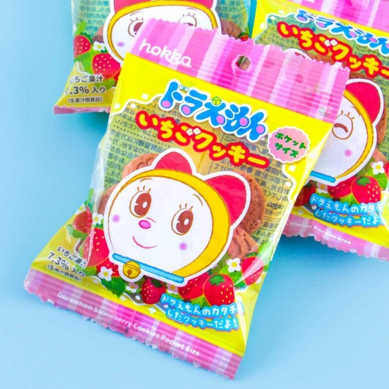 Doraemon Dorami Strawberry Cookies