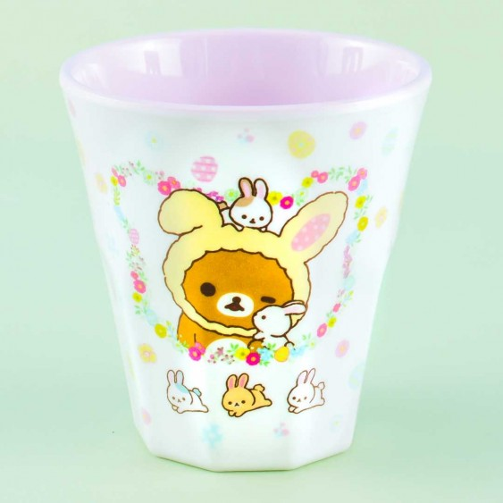 Rilakkuma With Rabbits In The Flower Forest Cup